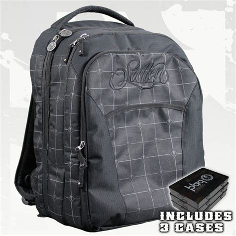 tattoo equipment backpack sullen blaq paq core travel tattoo backpack