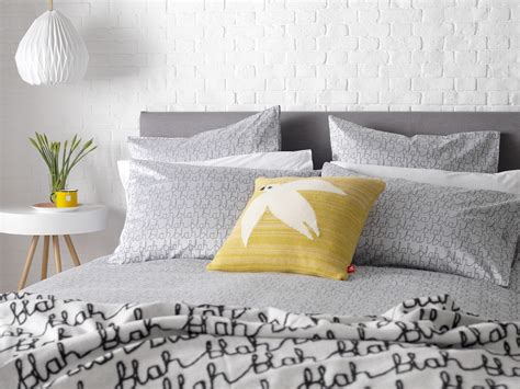 bed linen warehouse cotton blah blah bed linen designed by donna wilson for