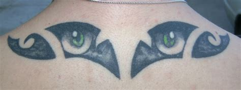 cat eye tattoo cats