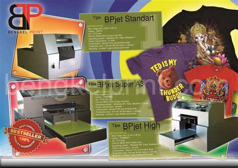 Printer Dtg A4 Semua Warna Di Jakarta produsen printer dtg a3 a4 murah mesin cetak kaos the knownledge