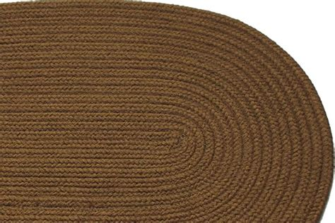 Solid Braided Rugs by Solid Light Brown Braided Rug