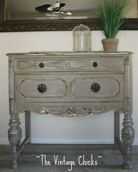 Gray Painted Furniture Gray Antique Furniture Ornate Gray Grey Antique