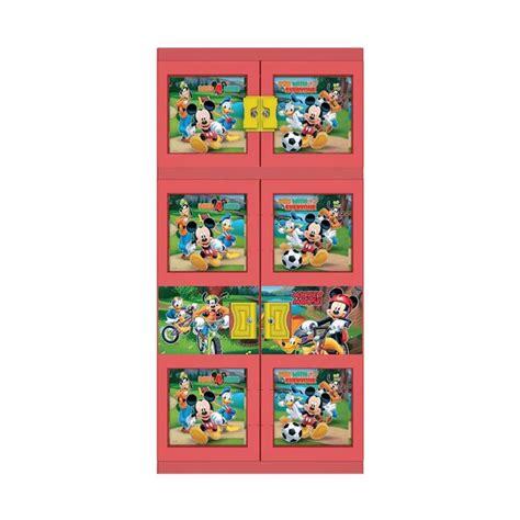 Lemari Plastik Merk Naiba jual naiba mickey 1633 r plastik lemari gantung merah