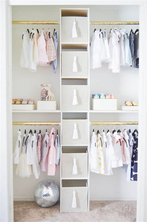 create  glam custom nursery closet   budget