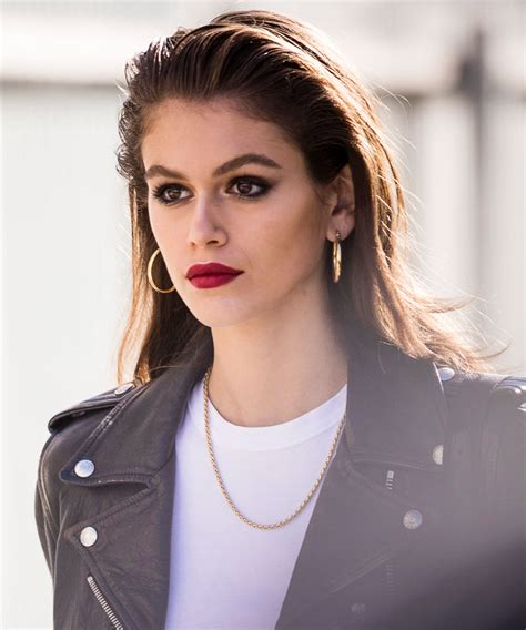 kaia gerber ysl beaute kaia gerber new face of ysl beaute instyle