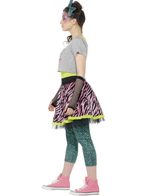 80 S Accessories Costumes by 80s Child Costume 44345 Fancy Dress