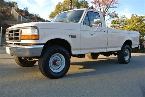 how to work on cars 1992 ford f250 spare parts catalogs 1992 ford f 250 hd reg cab 4wd in el cajon ca 1 owner car guy