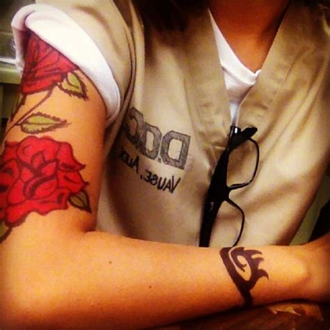 alex vause rose tattoo alex vause tattoos search tattoos