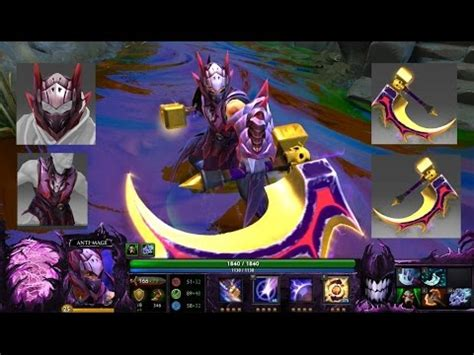 Ranti Set dota 2 anti mage mix set golden basher of mage skulls with