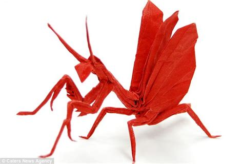 Brian Chan Origami - origami creatures made from a of paper by talented