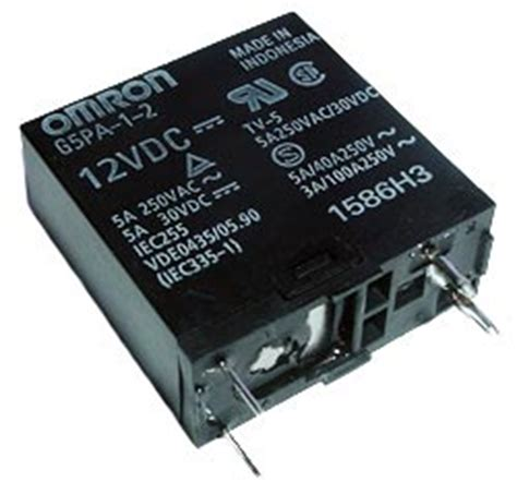 Power Relay 15v Omron G5pa 1 Relays West Florida Components