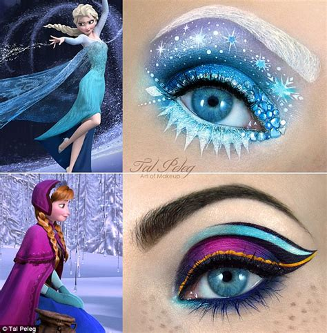 film makeup frozen artist tal peleg who paints scenes on eyelids now