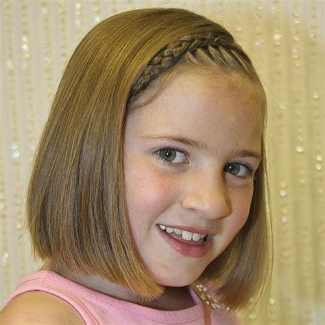 Chin Lenght Hairstyles For Childrens | chin length bob haircuts for girls pinterest shorts