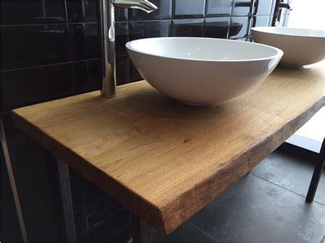 echtholz waschtisch waschtischplatte wp2 eiche 6 cm vollmassiv echtholz