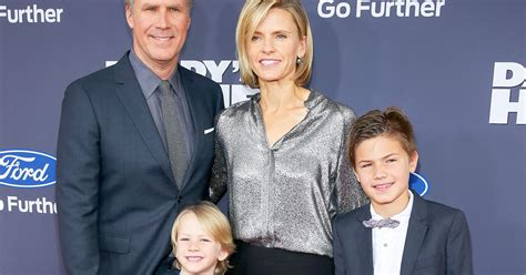 will ferrell yikes will ferrell s youngest sons look grown up debonair new