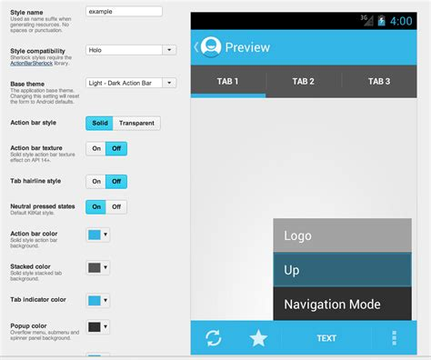 java themes edit android how do i change the background color of the