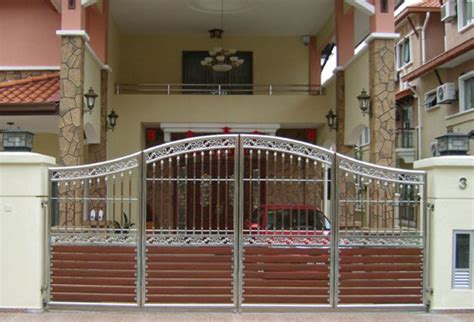 modern homes entrance gate designs