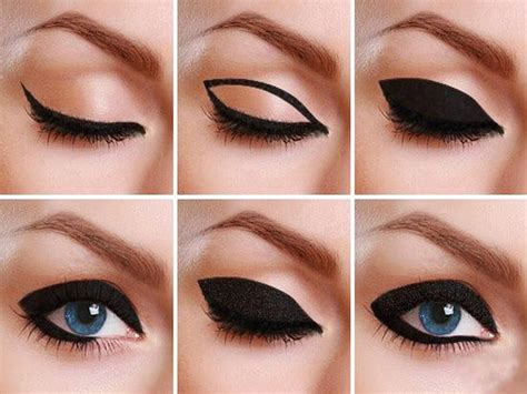 Eyeliner Arab here is how to master in 60 s thick cat eyeliner