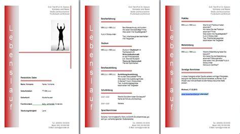 Lebenslauf Muster Gratis Vorlage Gratis Lebenslauf Vorlage Muster Und Beispiel Kostenlos Downloaden Bildungsbibel De