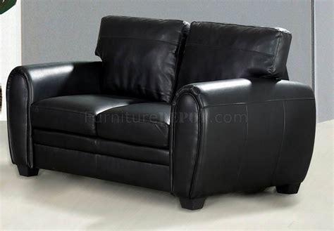 bonded leather loveseat black bonded leather sofa loveseat set w optional chair