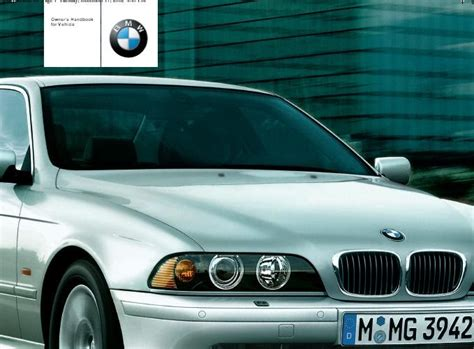 car owners manuals free downloads 2011 bmw 1 series electronic toll collection repair manuals bmw e39 2001 owners manual
