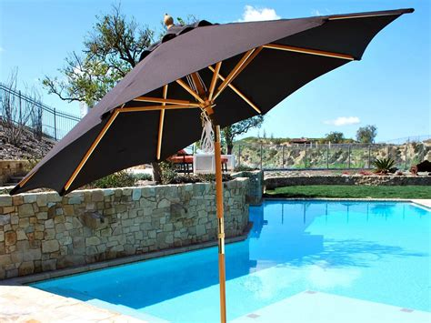 modern patio umbrellas the umbrella guide gentleman s gazette