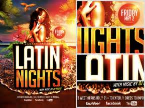 When Is Thanksgiving This Year 2014 Latin Nights Beach Flyer Template Flyerheroes