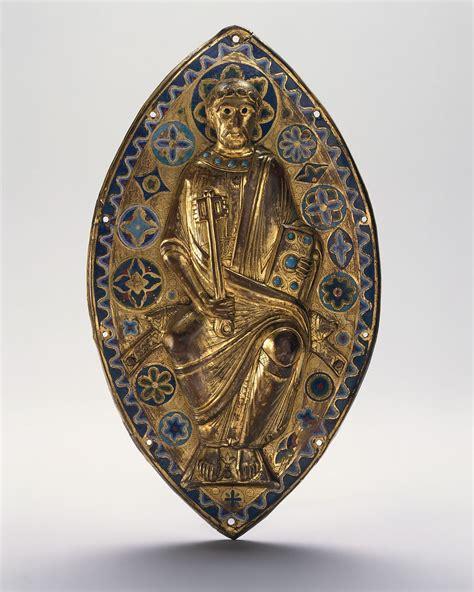 plaque  saint peter  glory french  met