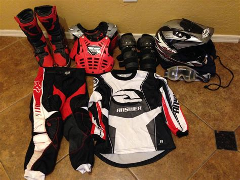 used motocross gear for sale used youth gear for sale for sale bazaar