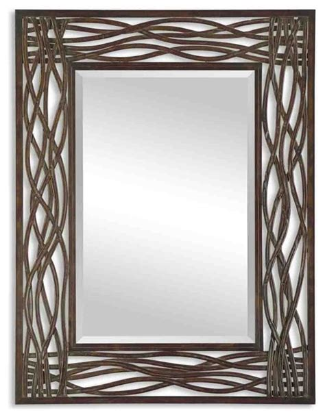 large metal framed mirrors wall mirror with gold frame