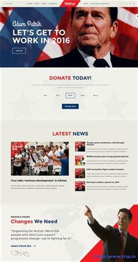 templates for voting website 1000 images about political websites on pinterest