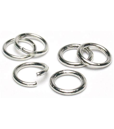 what are jump rings for jewelry jewelry basics 8mm jump rings 200 pk silver jo
