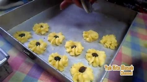 Cetakan Semprit Kue Kering 119 resep dan cara membuat kue semprit kismis kue kering