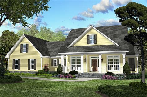 house plans for country style homes country style house plan 3 beds 2 baths 2100 sq ft plan 430 45