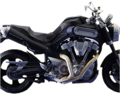 Motorrad Modell Basteln by Papercraft Yamaha Mt 01 Chip