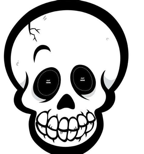 imagenes de calaveras y fantasmas maschere di halloween da stare e colorare foto