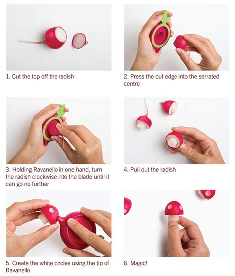 can dogs eat radishes simple kitchen tool that turns radishes into mario mushrooms geekologie