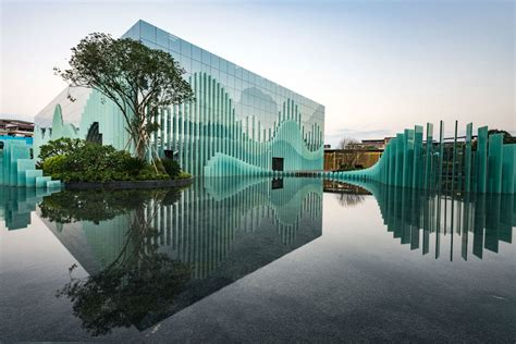 design concept nature architecture guilin wanda cultural tourism exhibition center tengyuan
