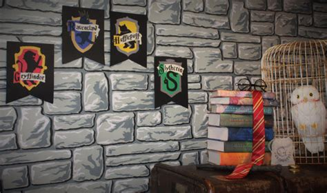 harry potter house decor harry potter decor hogwarts house wall by