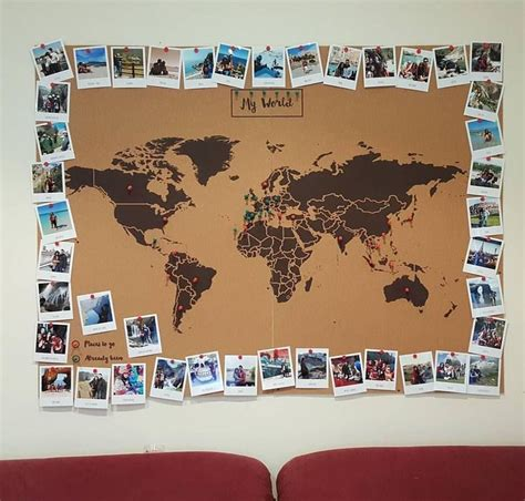 travel themed table decorations diy diy pinterest 25 best ideas about cork wall on pinterest office space