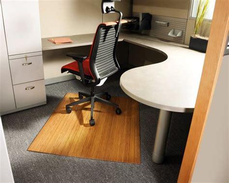 Bamboo Desk Chair Mat by Bamboo Chair Mat Cubicle Decor Zone