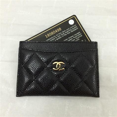 chanel card holder shopping wishlist bag