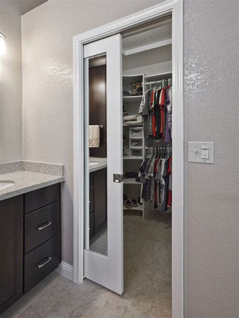Pocket Doors Space Saving Alternatives With An Pocket Door Closet