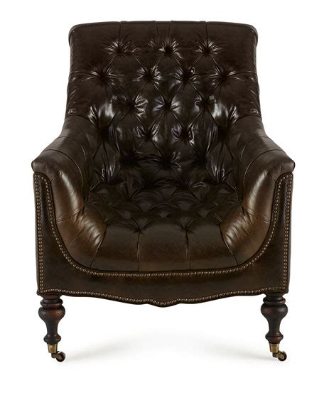 hickory tannery tufted leather chair ottoman hickory tannery tufted moss chair ottoman