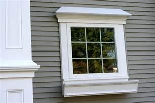 azek window boxes pin pvc exterior trim arch window finish carpentry