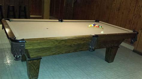 of leisure pool table of leisure billiards pool table 8 sold used pool