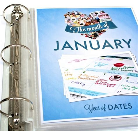 new year exact date year of dates binder complete set the dating divas