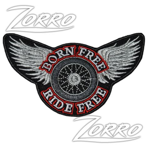 Ride Free patch born free ride free