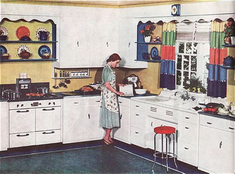 1938 kitchen ad for armstrong linoleum in black 1920 s 1930 s kitchens a gallery on flickr
