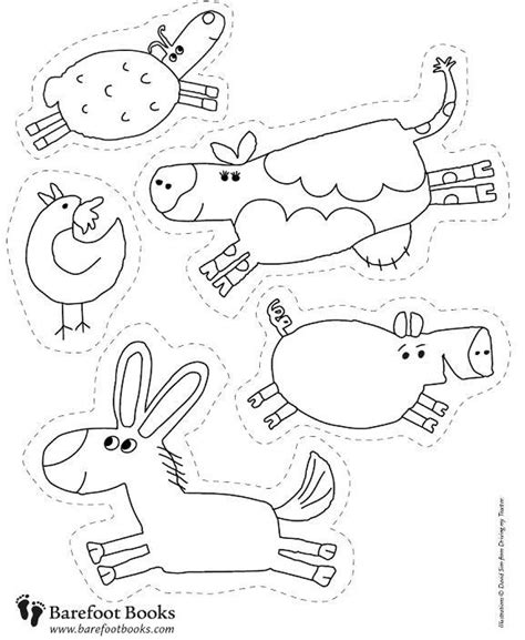 farm animals coloring pages preschool 119 best images about farm animals theme on pinterest